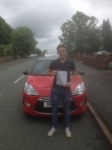 Daniel Crank passed with Craig Polles Driver Training
