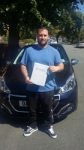Dave Whitehurst passed with Craig Polles Driver Training