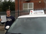 David Jose Meakin passed with Craig Polles Driver Training