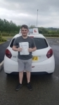 Declan Pugh passed with Craig Polles Driver Training