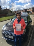 Deepa Devassy passed with Craig Polles Driver Training