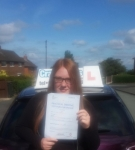 Demi Walker passed with Craig Polles Driver Training