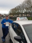 Dom Casey passed with Craig Polles Driver Training