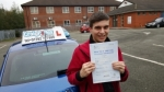 Dominic Bradshaw passed with Craig Polles Driver Training