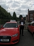 Dominic Matthewson passed with Craig Polles Driver Training
