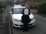 Donna Burn passed with Craig Polles Driver Training