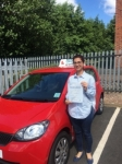 Dr Asma Mughal passed with Craig Polles Driver Training