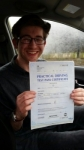 Elliot Lawton passed with Craig Polles Driver Training