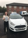 Emily Johnson passed with Craig Polles Driver Training