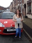 Emma passed with Craig Polles Driver Training