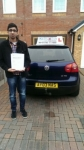 Faizan Tahir passed with Craig Polles Driver Training