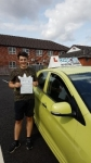 Fergus Meredith passed with Craig Polles Driver Training