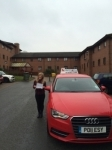 Fiona Chell passed with Craig Polles Driver Training