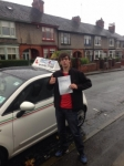 Fraser Pestana passed with Craig Polles Driver Training
