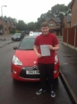 Gary Casewell passed with Craig Polles Driver Training