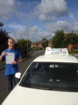 George Ward passed with Craig Polles Driver Training