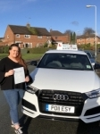 Georgia Cadman passed with Craig Polles Driver Training