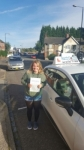 Georgia Clarke passed with Craig Polles Driver Training
