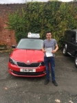 Grahame Boswell passed with Craig Polles Driver Training
