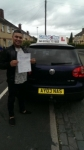 Hamod Miah passed with Craig Polles Driver Training