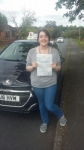 Hannah Bailey passed with Craig Polles Driver Training