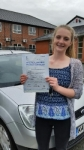 Hannah Ball  passed with Craig Polles Driver Training