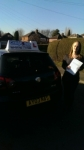 Hannah Speakman passed with Craig Polles Driver Training