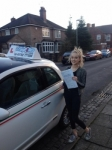Hannah Williams passed with Craig Polles Driver Training