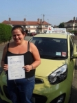 Harriet passed with Craig Polles Driver Training