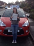 Hayley passed with Craig Polles Driver Training