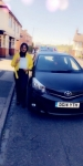 Henna Parveen passed with Craig Polles Driver Training