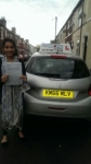 Hina Tariq passed with Craig Polles Driver Training