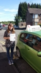 Holly Carter passed with Craig Polles Driver Training