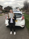 Isabel Gallimore passed with Craig Polles Driver Training