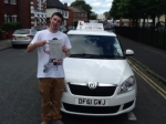 J.M passed with Craig Polles Driver Training