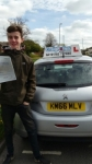 Jack Holt passed with Craig Polles Driver Training