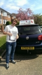 Jack Parry passed with Craig Polles Driver Training