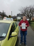 Jack Walters passed with Craig Polles Driver Training