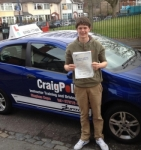 Jack passed with Steve passed with Craig Polles Driver Training