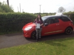 Jackie passed with Craig Polles Driver Training