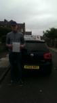Jacob Cuthbert passed with Craig Polles Driver Training