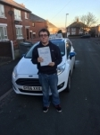 Jacob Gibson passed with Craig Polles Driver Training