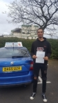 Jacob Mcavoy passed with Craig Polles Driver Training