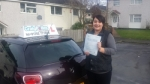 Jade Evans passed with Craig Polles Driver Training