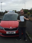 Jake Rogerson passed with Craig Polles Driver Training