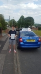 James Brennan passed with Craig Polles Driver Training