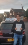James Moorehouse passed with Craig Polles Driver Training