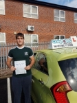 James Sanderson passed with Craig Polles Driver Training