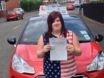Jane passed with Craig Polles Driver Training