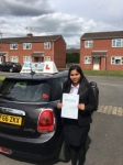 Janeeta Rose Thomas passed with Craig Polles Driver Training